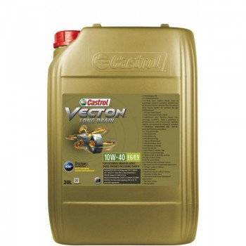 10W-40 E6/E9 VECTON LONG DRAIN 20 L CASTROL