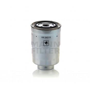 WK 940/16 X MANN-FILTER Фильтр топливный