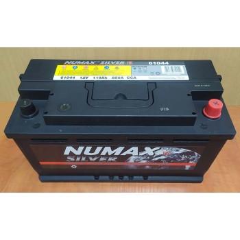 АКБ NUMAX SILVER 6СТ-110 (о.п.) [д351ш173в190/850]