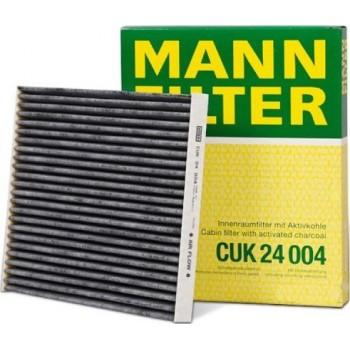 CUK 24004 MANN-FILTER Фильтр салонный (уголь.)