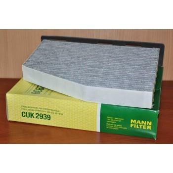 CUK 2939 MANN-FILTER Фильтр салона (уголь.)