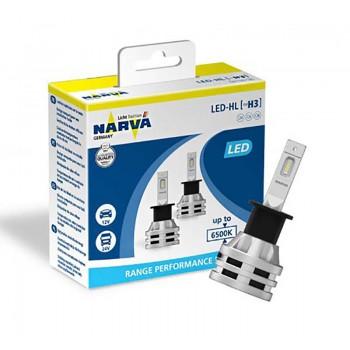 18058 NARVA Лампа светодиодная LED H3 Range Performance 6500K