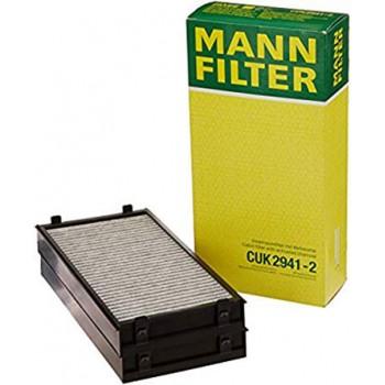 CUK 2941-2 MANN-FILTER Фильтр салонный (уголь.)