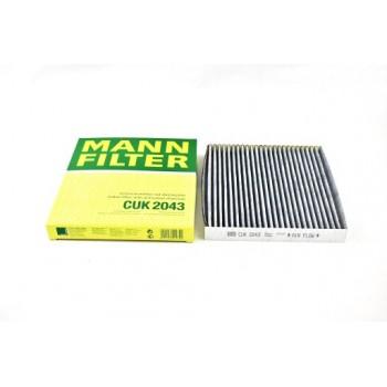 CUK 2043 MANN-FILTER Фильтр салонный (уголь.)