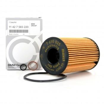 11 42 7 583 220 BMW К-т сменного элемента масляного фильтра