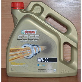 0W-30 EDGE TURBO DIESEL 4L CASTROL (BE02 Бельгия)