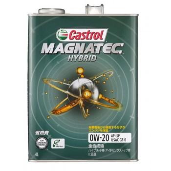 0W-20 GF MAGNATEC HYBRID 4L CASTROL Ж/Б