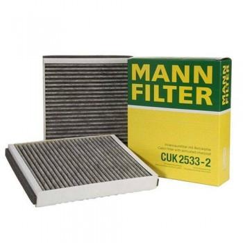 CUK 2533-2 MANN-FILTER Фильтр салонный (уголь.)
