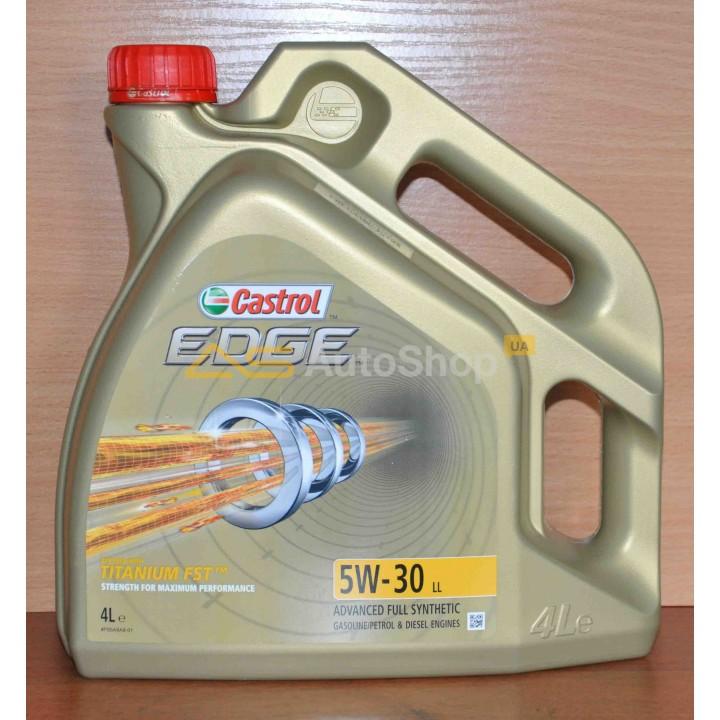 5W-30 LL EDGE 4L CASTROL (BE02 Бельгия) (6) (10) (21)