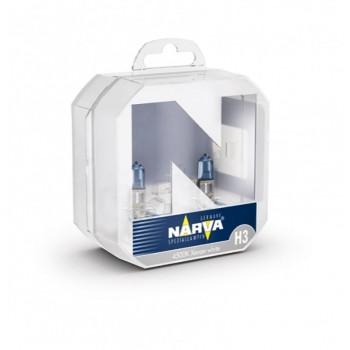48602 NARVA Лампа RANGE POWER WHITE 12V H3 4100K 55W Pk22s (пласт. коробка 2 шт)