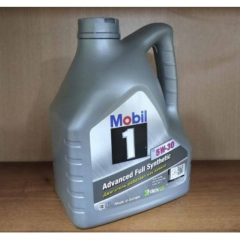5W-30 A5/B5 Mobil1 Масло моторное 4 л
