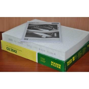 CU 2842 MANN-FILTER Фильтр салона