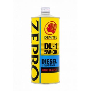 5W30 Diesel DL-1 IDEMITSU ZEPRO Масло моторное полусинт. (железо/Япония) (1L) (4)